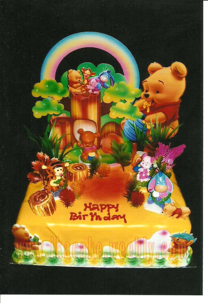 Kue Ulang Tahun Winnie The Pooh K 010