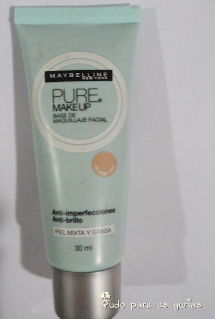 Pure makeup da Maybelline.