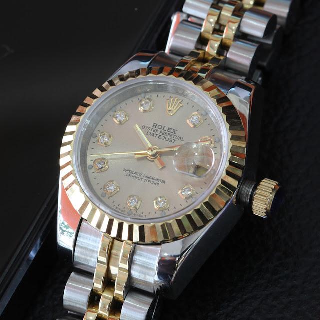 Đồng hồ rolex mặt vàng