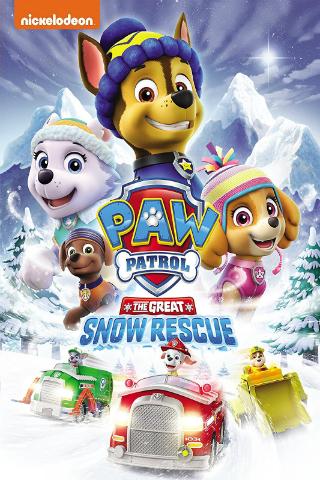 PAW Patrol: The Great Snow Rescue [2017] [DVDR] [NTSC] [Latino]