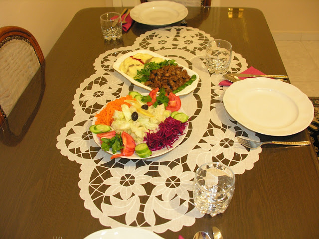 Et yemekler, Kebaplar, Saray Mutfağ, sahra