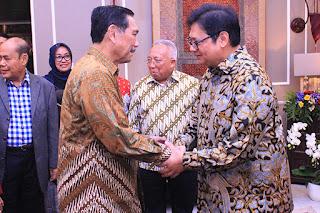 Menteri Perindustrian Gelar Halal Bihalal