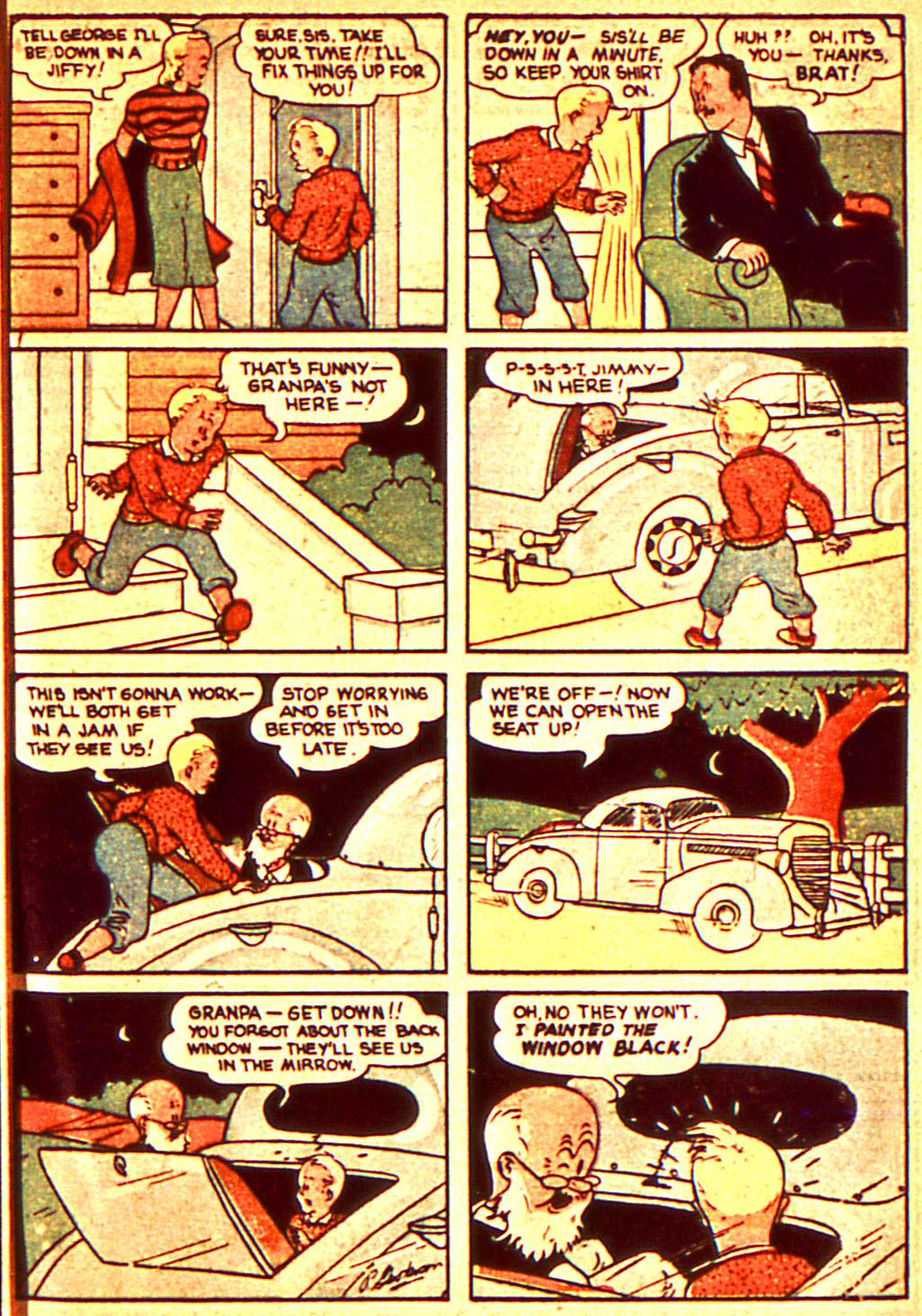 Read online Action Comics (1938) comic -  Issue #7 - 34