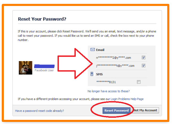 What is My Password for Facebook - DaftarEmail com