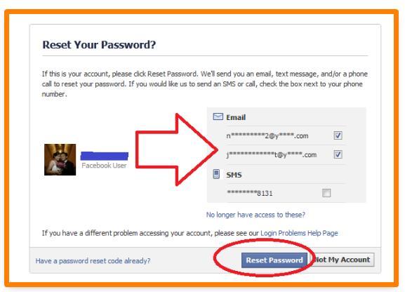 How Do I Get My Password Back