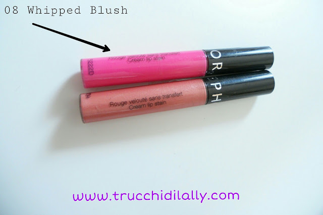 tinta labbra Sephora 08 Whipped blush Cream lip stain