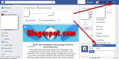 cara ganti nama di facebook lewat komputer/laptop