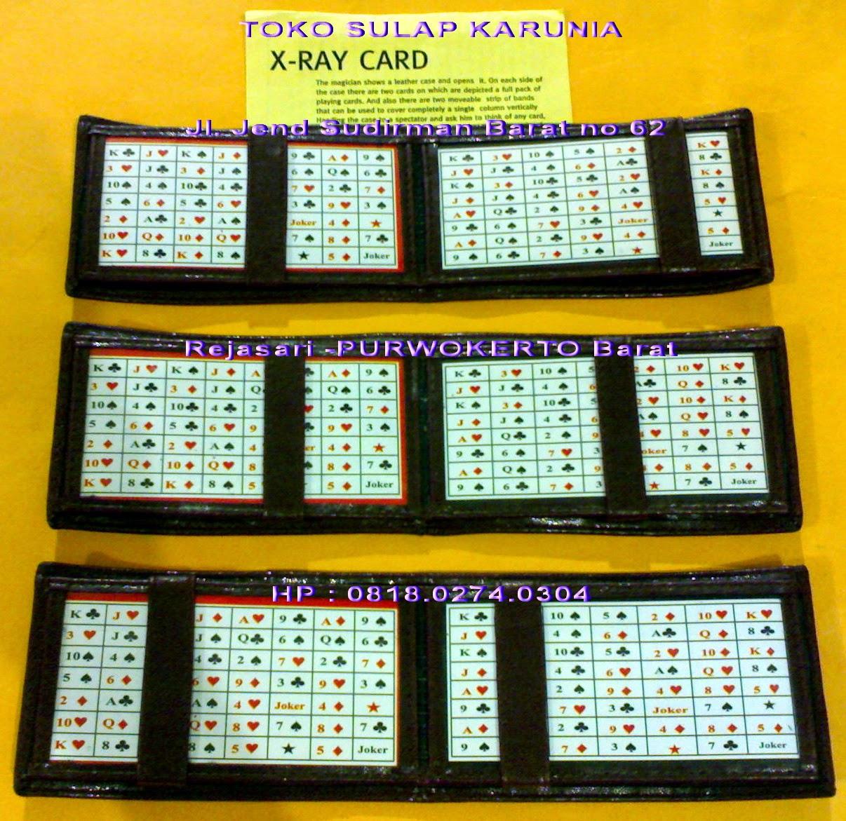 Alat Kartu Remi Toko Sulap Purwokerto X Ray Card Wallet Dompet Rp 95000 Pesulap Menunjukkan Yg Di Dalamnya Ada Tampilan Lengkap Penonton Suruh Menghapal