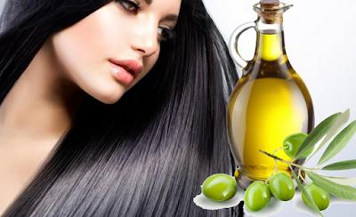 Cara Meluruskan Rambut Tanpa Rebonding Secara Alami dengan minyak zaitun