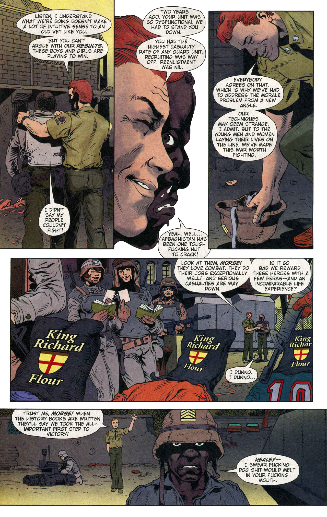 Read online Army @ Love comic -  Issue #1 - 16