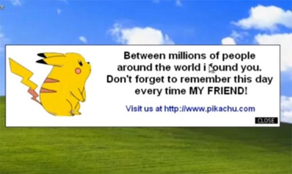 Virus pokemon: ternyata ada virus komputer benama pikachu