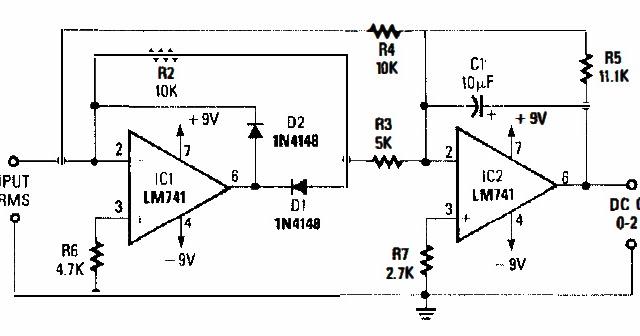 ac dc converter circuit electronic repairing