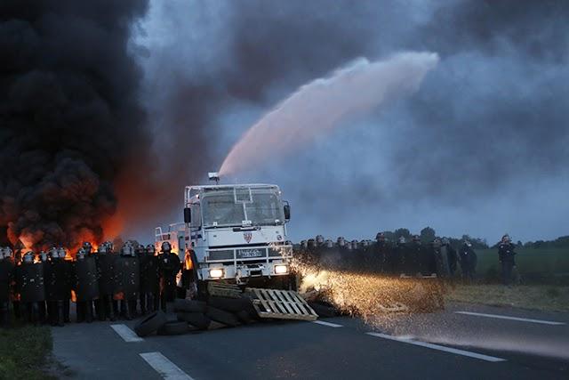 Γαλλία: Κλιμακώνεται η αντιπαράθεση συνδικάτων-κυβέρνησης (vid)