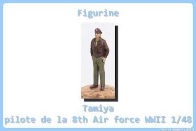 Figurine de l'USAF WWII