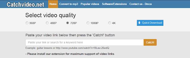 download video youtbe di catchvideo