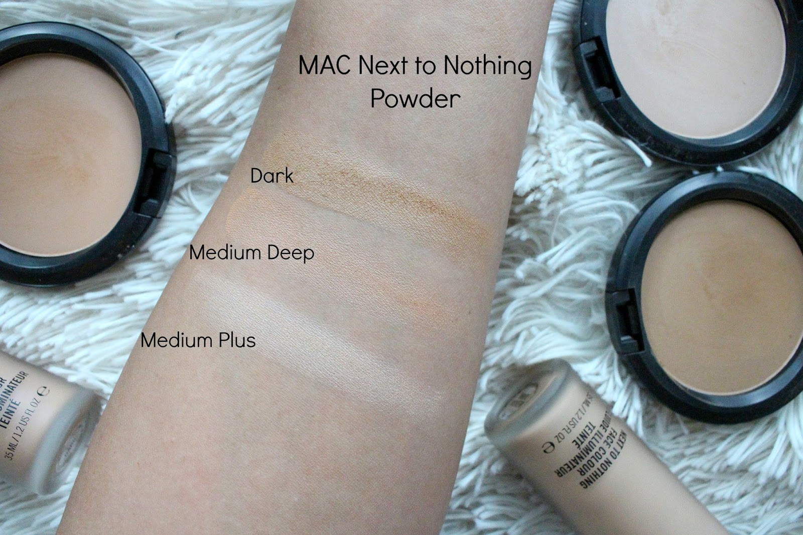 Mac next to nothing powder review