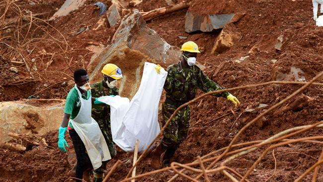 Death toll from Sierra Leone mudslides tops 1,000: Local sources