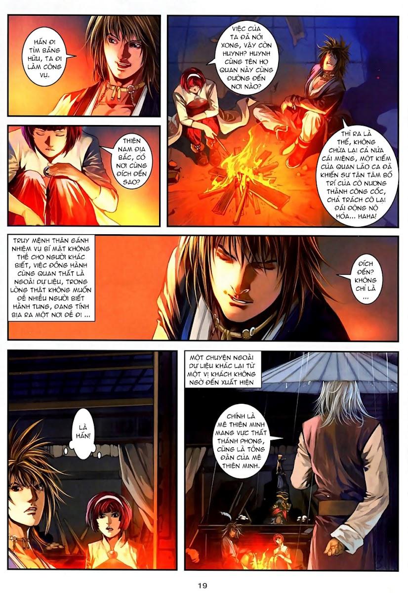 Ôn Thuỵ An Quần Hiệp Truyện Phần 2 chapter 6 trang 19
