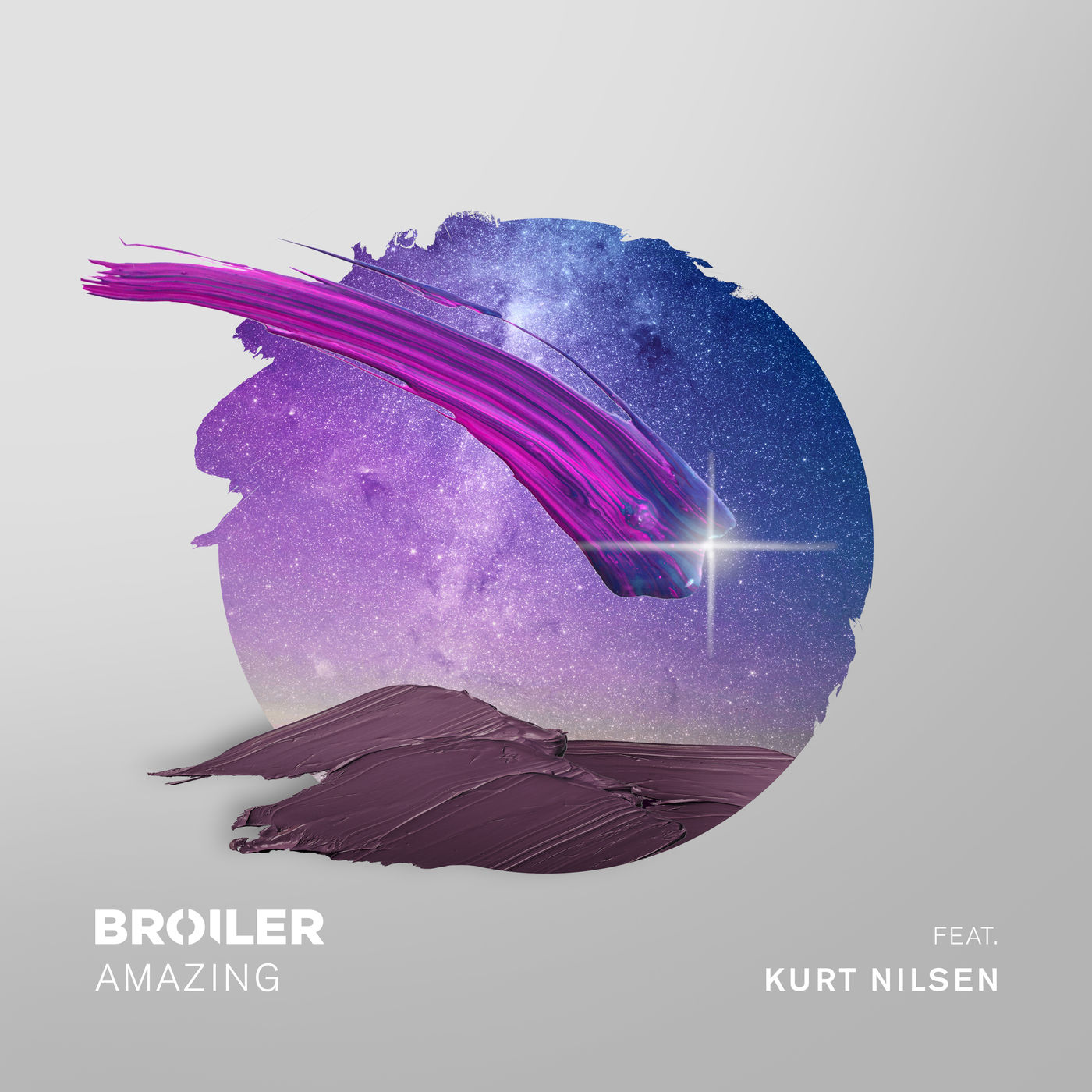 Broiler - Amazing (feat. Kurt Nilsen) - Single Cover