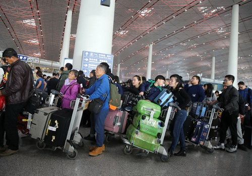 Tinuku Baidu offers face recognition boarding at Beijing airport