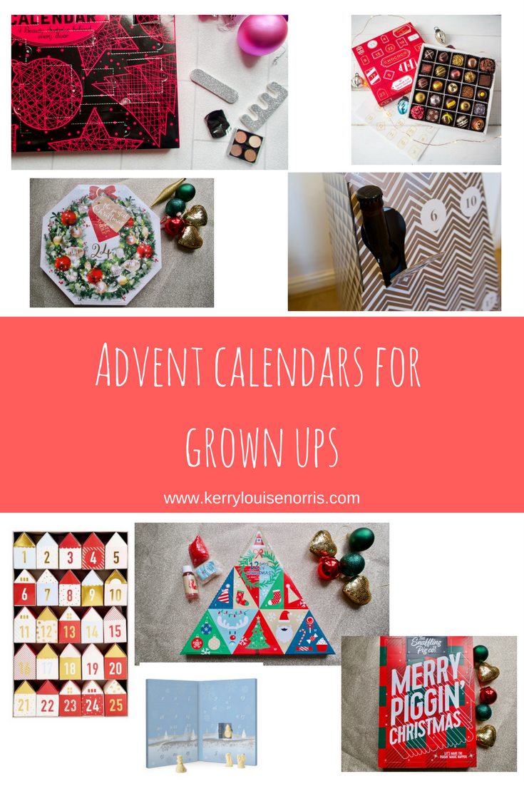 Advent Calendars for Grown Ups | Kerry Louise Norris