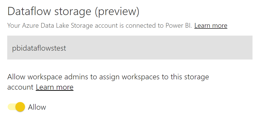 Microsoft BI Tools: Azure - Reuse Power BI dataflows