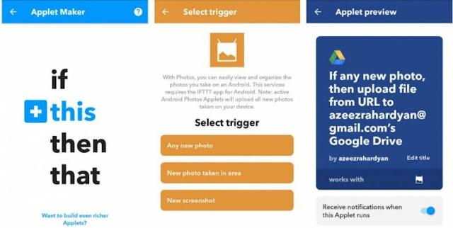 menggunakan layanan Cloud untuk menghemat memori penyimpanan android