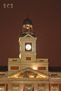 Reloj de la Torre (Casa de Correos) Madrid by Susana Cabeza