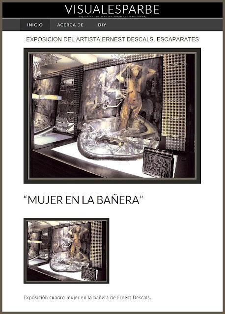 ERNEST DESCALS-ARTISTA-PINTOR-EXPOSICION-PINTURA-EROTICA-ESCAPARATES-TIENDAS-MANRESA-VISUALESPARBE