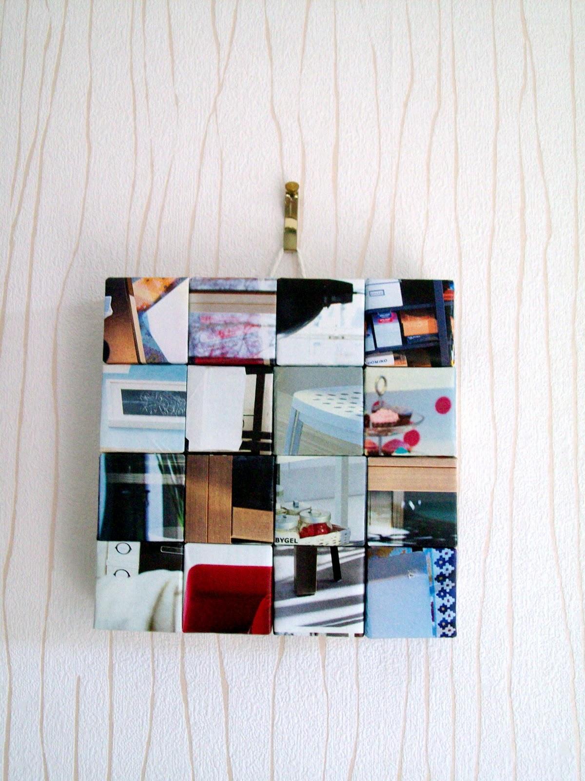 Makey-Cakey: Recycled IKEA Catalogue Wall Art