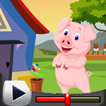 G4K Cute Pig Rescue 2 Game Walkthrough
