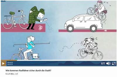 WDR: Wie kommen Radfahrer sicher durch die Stadt?