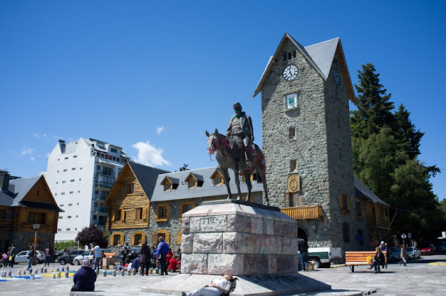 Centro Cívico em Bariloche na Argentina
