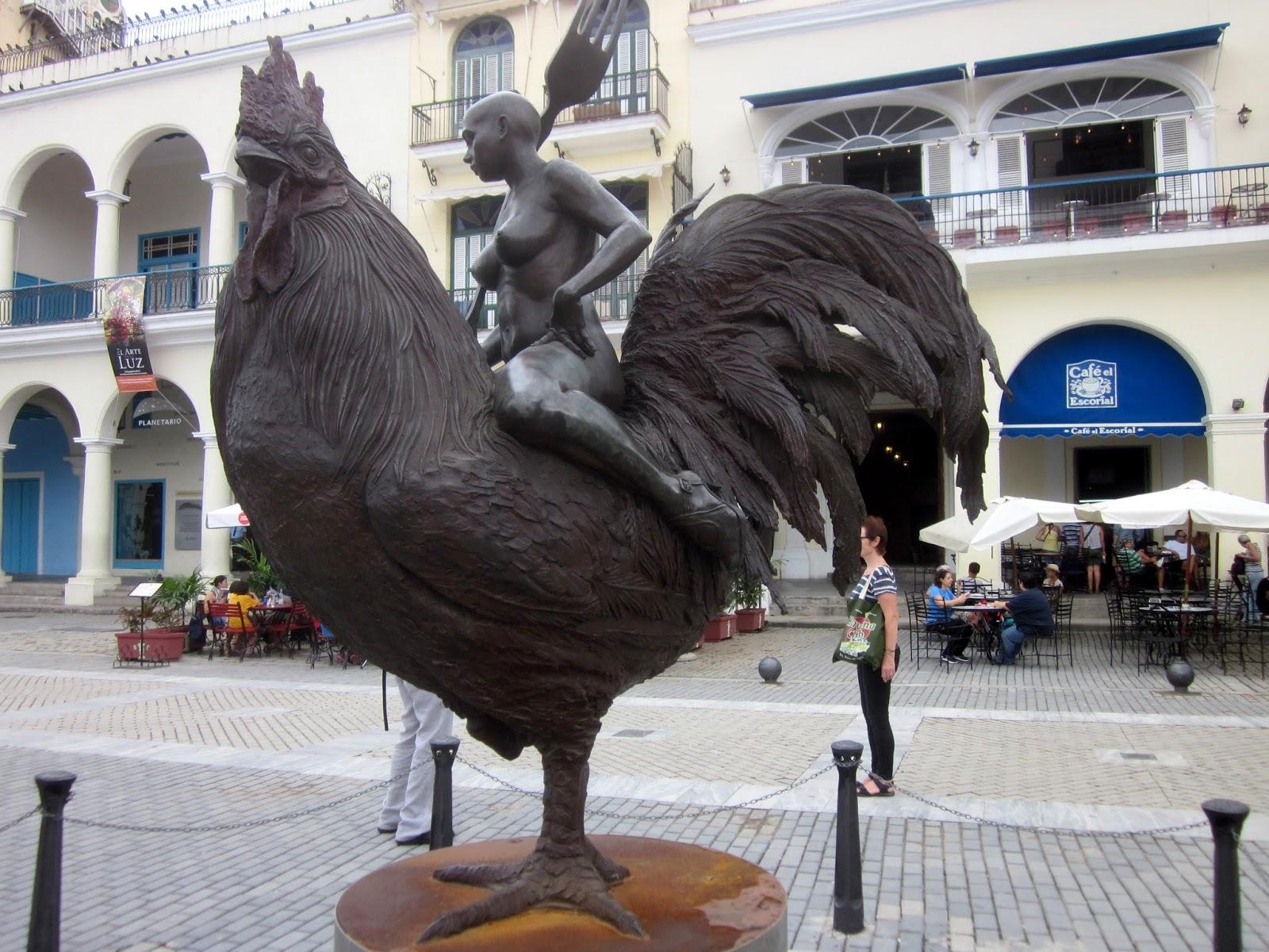 Castro iso musta kukko