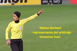 arbitros-futbol-Mahsa-Ghorbani