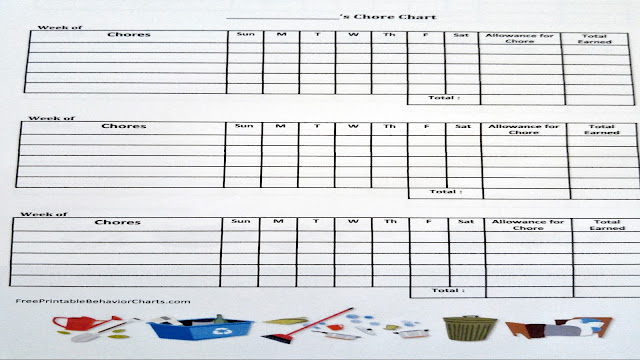 My WAHM Plan: kids chore charts