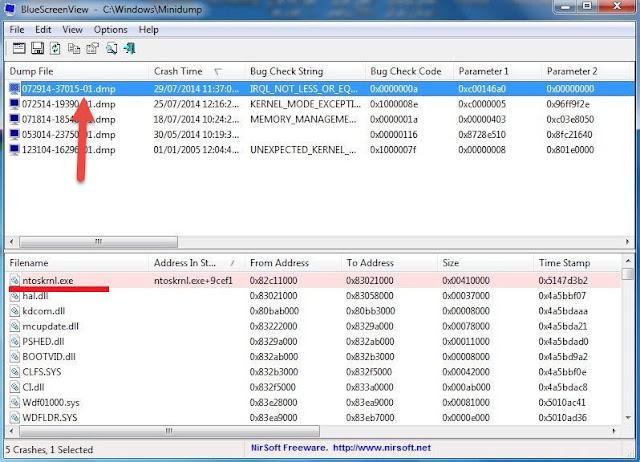 حل مشكلة الشاشة الزرقاء في  Windows 8,8.1,10 2