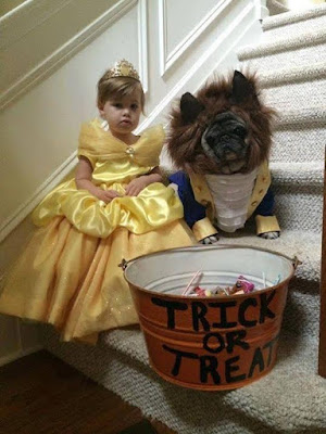Trick or Treat Beauty and the Beast