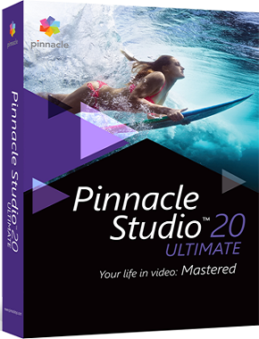 Pinnacle Studio Ultimate 20.6.0 poster box cover