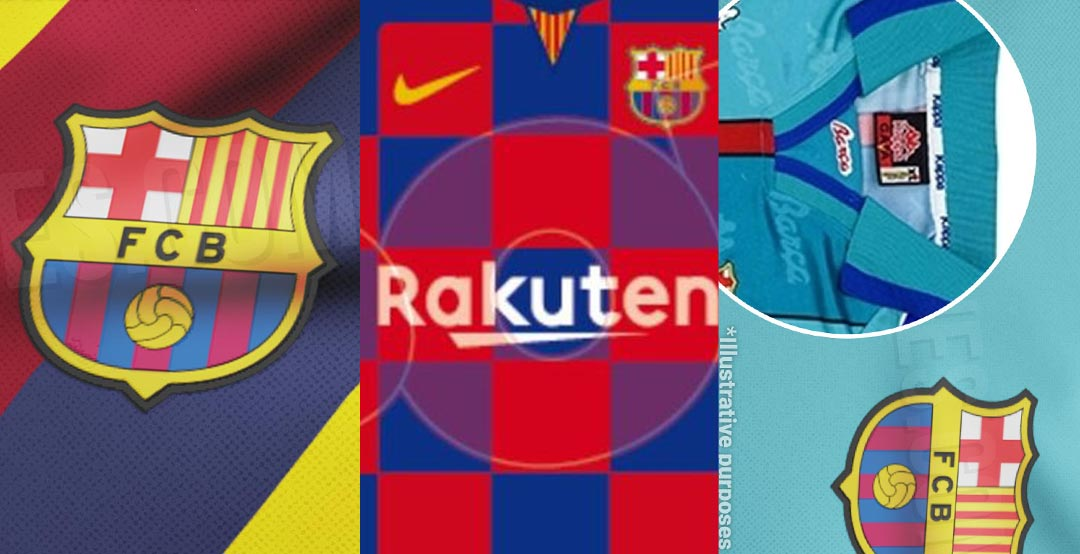 brand new 79766 cd6c9 FC Barcelona 19-20 Home, Away and Third Kits Details Leaked ...
