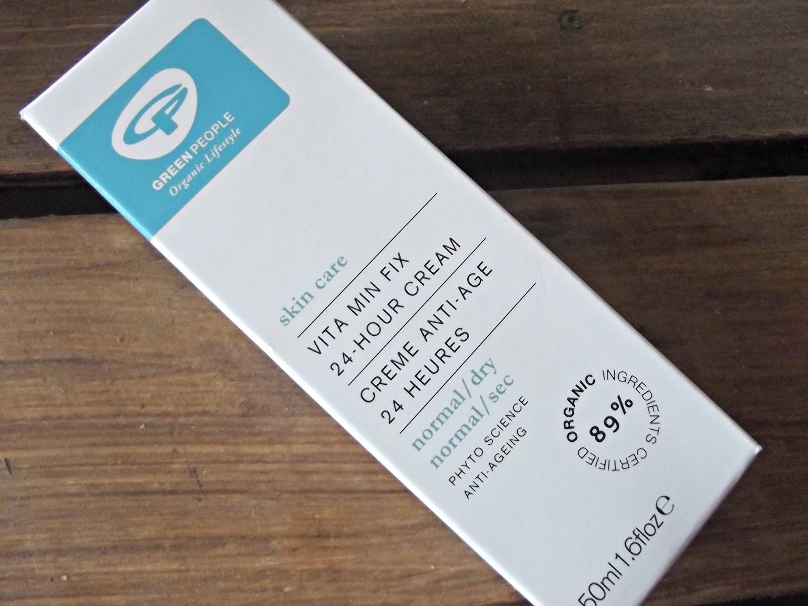 Green People Vita Min Fix 24-Hour Cream Moisturiser
