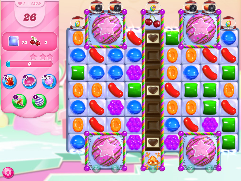 Candy Crush Saga level 4379
