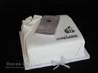 Bolo de aniversário iPhone