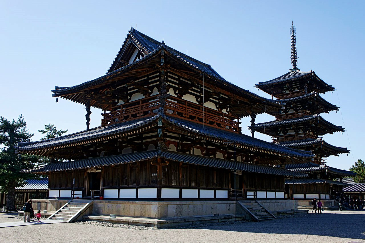 奈良-景點-推薦-法隆寺-Horyuji Temple-市區-自由行-必玩-必遊-必去-旅遊-觀光-日本-Nara-Tourist-Attraction