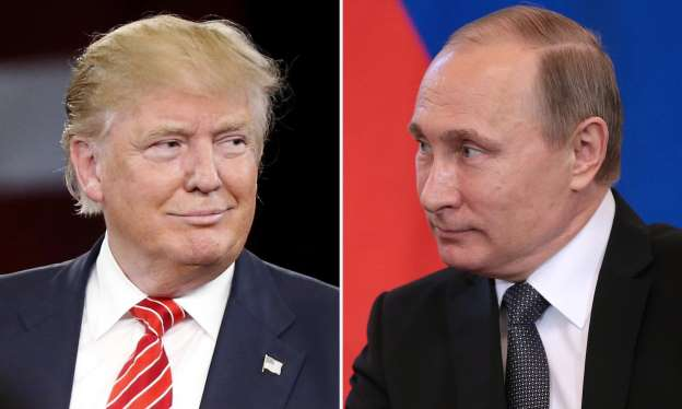 Vladimir Putin stresses cooperation in phone call with Donald Trump