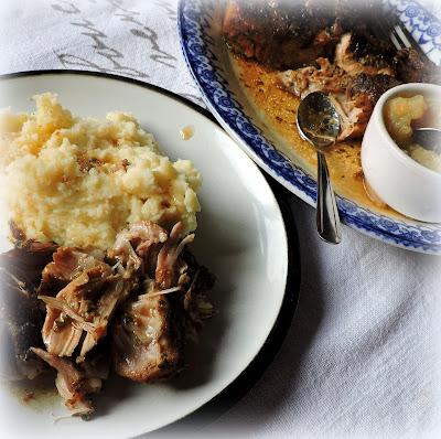 Roast Pork Shoulder with Sage & Onion