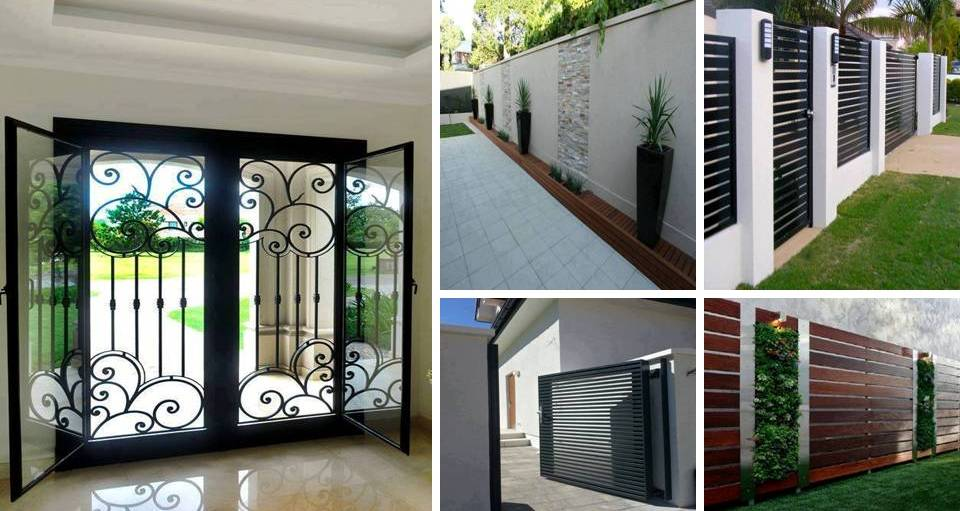 Best security screen doors for double entry that will make for Screen door for double door entry