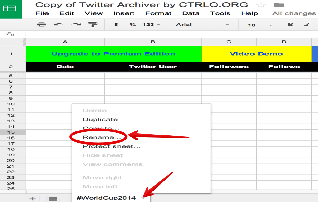 Easy Way to Import and Save Tweets and Hashtags into Google Drive