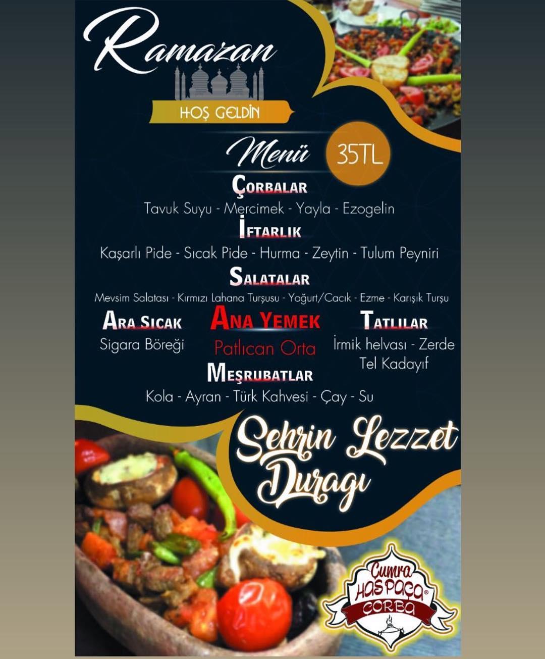 has paça çorba konya tel çumra iftar yemeği konya çumra iftar mekanları konya iftar menüleri fiyatları