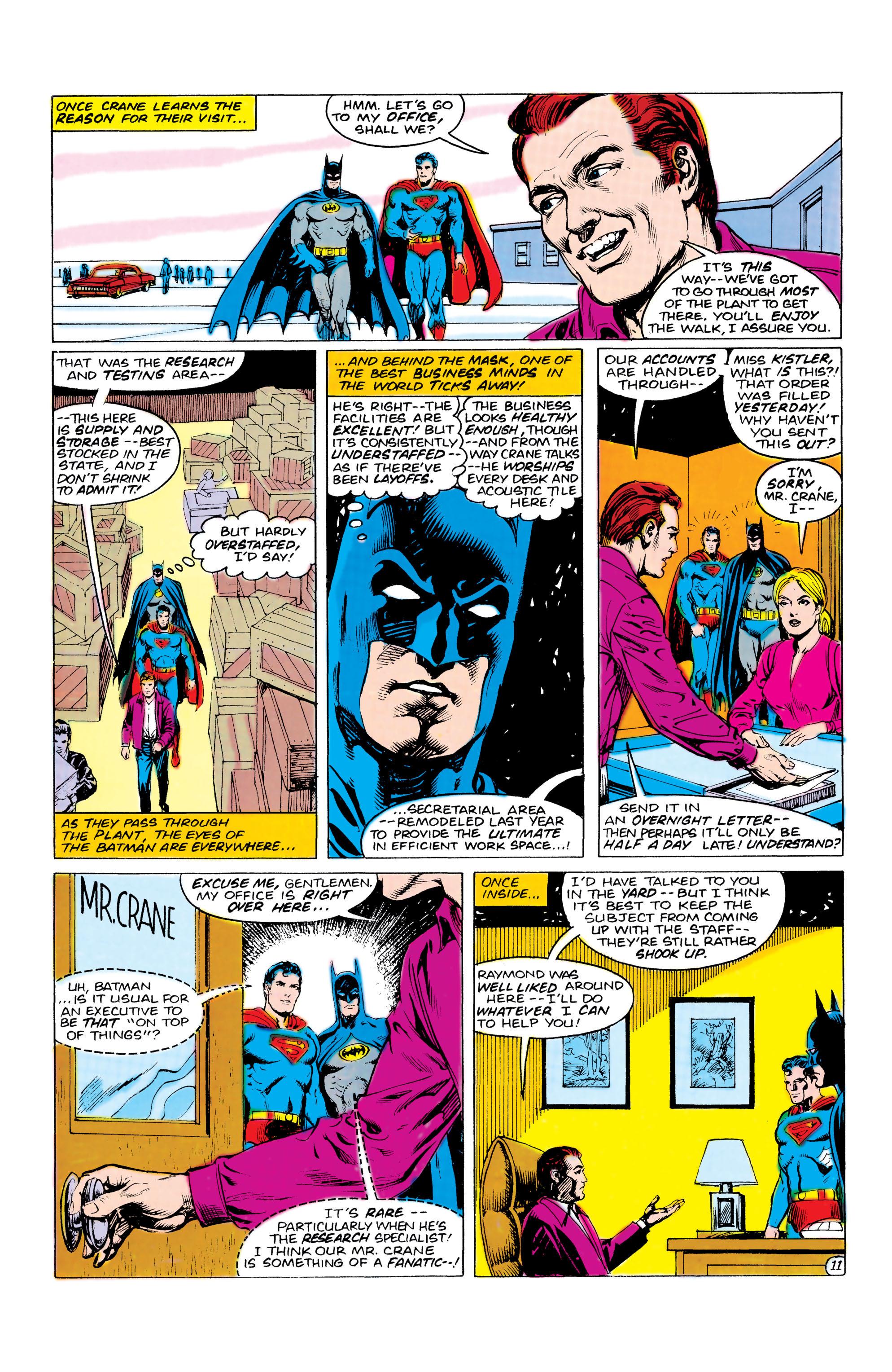Read online World's Finest Comics comic -  Issue #309 - 12